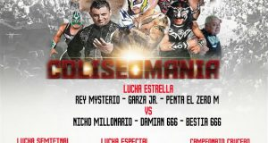 "Cartel LlyC – ""Coliseomania V"" – Arena Coliseo Monterrey – Domingo 09 Abril 2017"