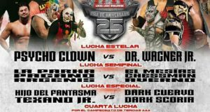 Cartel AAA-TV Lucha Libre WorldWide – Arena Jose Sulaiman, Monterrey N.L. Domingo 16 Julio 2017
