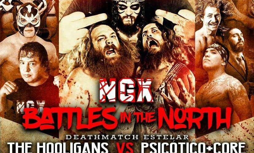 "Cartel NGX – ""Battles in the North"" Gym Factores Mutuos, Monterrey N.L. – Sabado 14 Abr 2018"