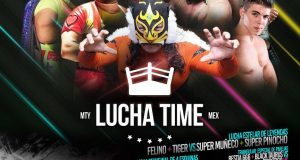 Cartel Lucha Time – Gimnasio NL Independiente – Domingo 16 Sept 2018