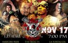 Cartel Zona 23 Hardcore – Gym Factores Mutuos, Monterrey N.L. Sabado 17 Nov 2018